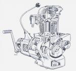 Przekrój silnika R 35